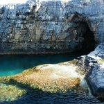Grotto close to Lindos beach