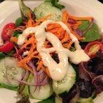 Green Salad to Start