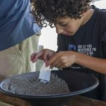 Gold panning is fun and also an opportunity to teach the kids about the gold rush period.