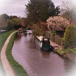 ....just a short walk from the B & B....the Mersey and Trent Canal.