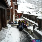 Walk up to the Chalet