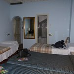 The first room we were allocated