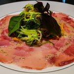 Dinner served in our Park Room incl. Veal Carpaccio