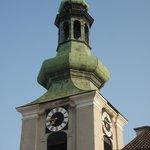 Kirchturm gegenüber