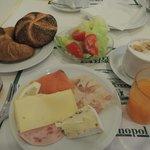 種類が多くて美味しい朝食だった