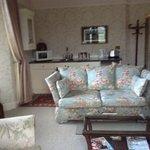 Caernarfon suite lounge area