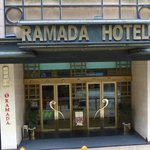 Ramada Hong Kong entrance