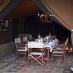 Nkorombo - Mess Tent Interior