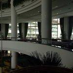 Again inside the hotel
