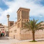 The wind towers of Bastakia, Dubai