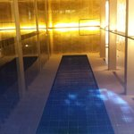 Indoor pool had velvety smooth water!