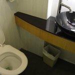 Туалет в нашем номере