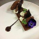 """Dessert """"le tout chocolat, délice en plusieurs textures"""""""