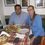 pranzo presso Taverna Naxos di Angelo Savoca