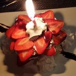 Birthday Strawberry Shortcake!