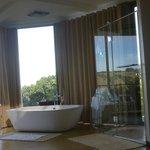 The indoor shower