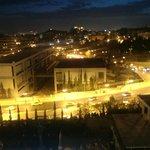 Vista de noche, fotografía con teléfono