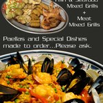 Fish, Seafood and Meat Mixed Grills!!