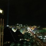 View of the Las Vegas Strip from my room window