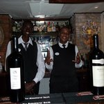 Odene and Andre....great bartenders!