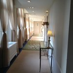 Corridor to our suite
