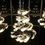 hermosas lámpara en el hall de entrada