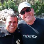 """Dive Master """"Charlie"""" at Los Arcos"""