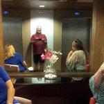 Enjoying elaborate and Luxurious Elevator waiting area