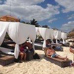 Privilege Cabanas and Beach Area (Private)