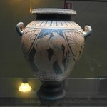 Ancient Greek wine container