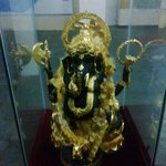 in the dumbulla musium,the hindus loard ganesh