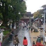 Way toward the shrine