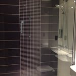 The shower cubicle.  Nicely done and good water power.