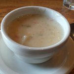 The Old Mill's Signature Corn Chowder