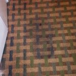 Nasty stain on floor, as you walk in... Felt like we were in a Motel6, and should lay towels on