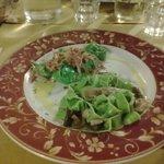 tortelli verdi alla ricotta con speck