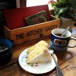 Lemon Cake and Americano
