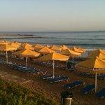 plage le matin a 7h