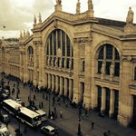 View of Gare du Nord