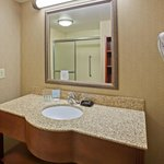 Our guest bathroom areas feature Neutrogena products and every room features a hair dryer
