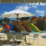 La piscine du parc aquatique pour les enfants