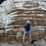 Rock Climbers come for all over the Southeast