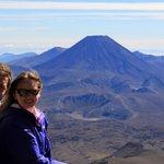 Mount Ngauruhoe - view from Skyline Ride walk