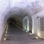 corridor under the seats