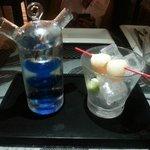 Element-7 cocktail (NICEEEEE!)