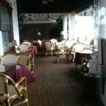 Casablanca inn veranda.