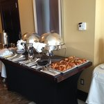 Breakfast Buffet Set-Up