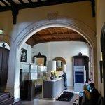 Stilvolle Lobby