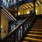 Treppenhaus in der Villa