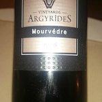 Local wine - 2008 vintage barrel aged powerful, dry but nice fruit taste